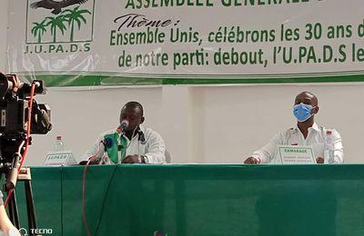 Sidoine Giscard MADOULOU, Président de la JUPADS a renoué avec sa base