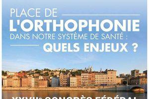 Congrès fédéral de la Fédération Nationale des Orthophonistes - 9-11 juin 2016