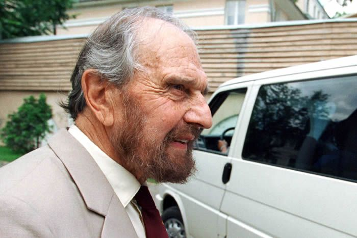 George Blake avait 98 ans. / Kommersant Photo - Yury Martyanov