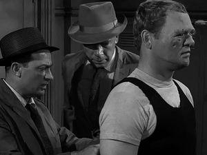 Captures d'écran : Steel - Twilight Zone 5 épisode 2 (1963)