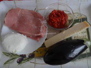 Escalopes de veau façon parmigiana