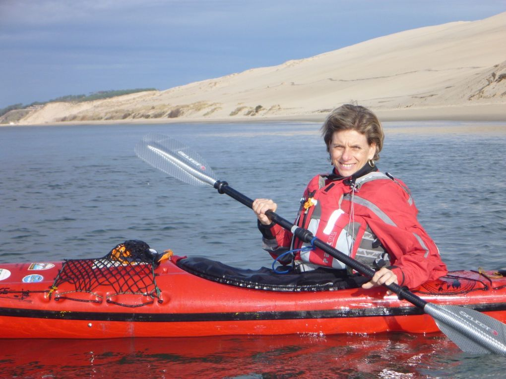 Sortie en kayak de Cathy et Dominique mardi 28 décembre 2010