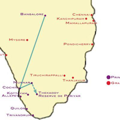 Etape n°3 : La réserve naturelle de Periyar