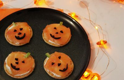 Halloween #35 - Blinis citrouille express