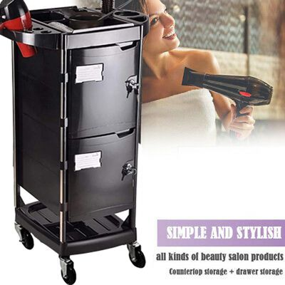 Hair Dresser Cart Trolley for Beauty Salon