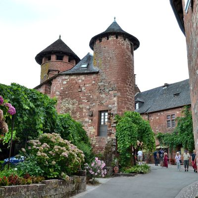 Collonges-la-Rouge, perle du Limousin...