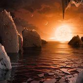 Deux exoplanètes autour de Trappist-1 pourraient accueillir la vie