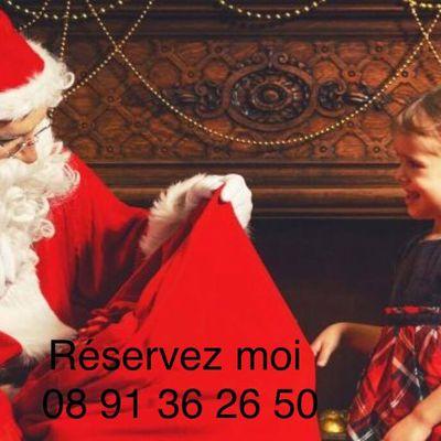 Pere noel Lyon : visite à domicile du père noel le 24 ou le 25 décembre