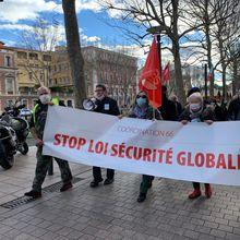 """Appel à participer à la MARCHE DES LIBERTES  contre la loi """"Sécurité globale"""" Samedi 30 janvier 2021 à 14h Perpignan, au pied du Castillet"""
