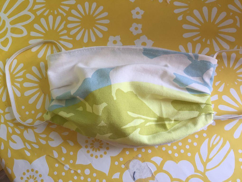 masque de protection à plis sur charlotteblabla blog