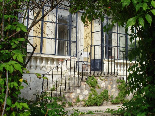La maison Victor Schoelcher côté jardin