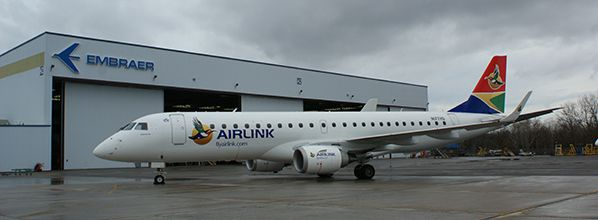 Airlink becomes first South African airline to acquire Embraer E-Jets