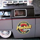 VW COMBI PICK-UP 1963 DOUBLE CABINE PINBALL JADA TOYS 1/24. - car-collector.net