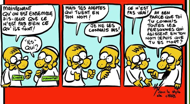 Toujours Charlie !