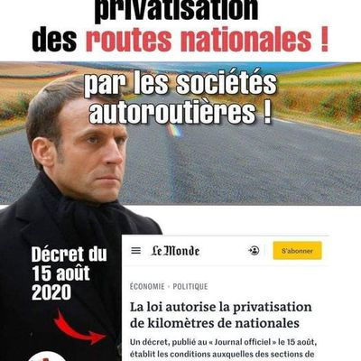 Routes nationales : un pas vers la privatisation ?