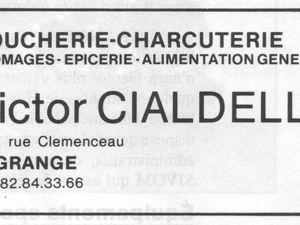 N° 118 rue Clemenceau à Algrange - ? - Boucherie - Coiffure