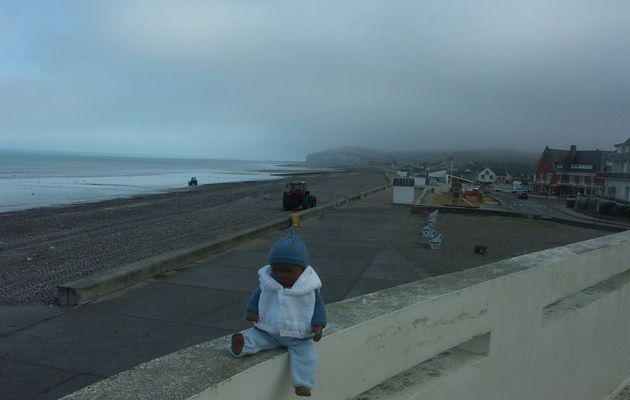 Il faisait frais ce matin en bord de mer