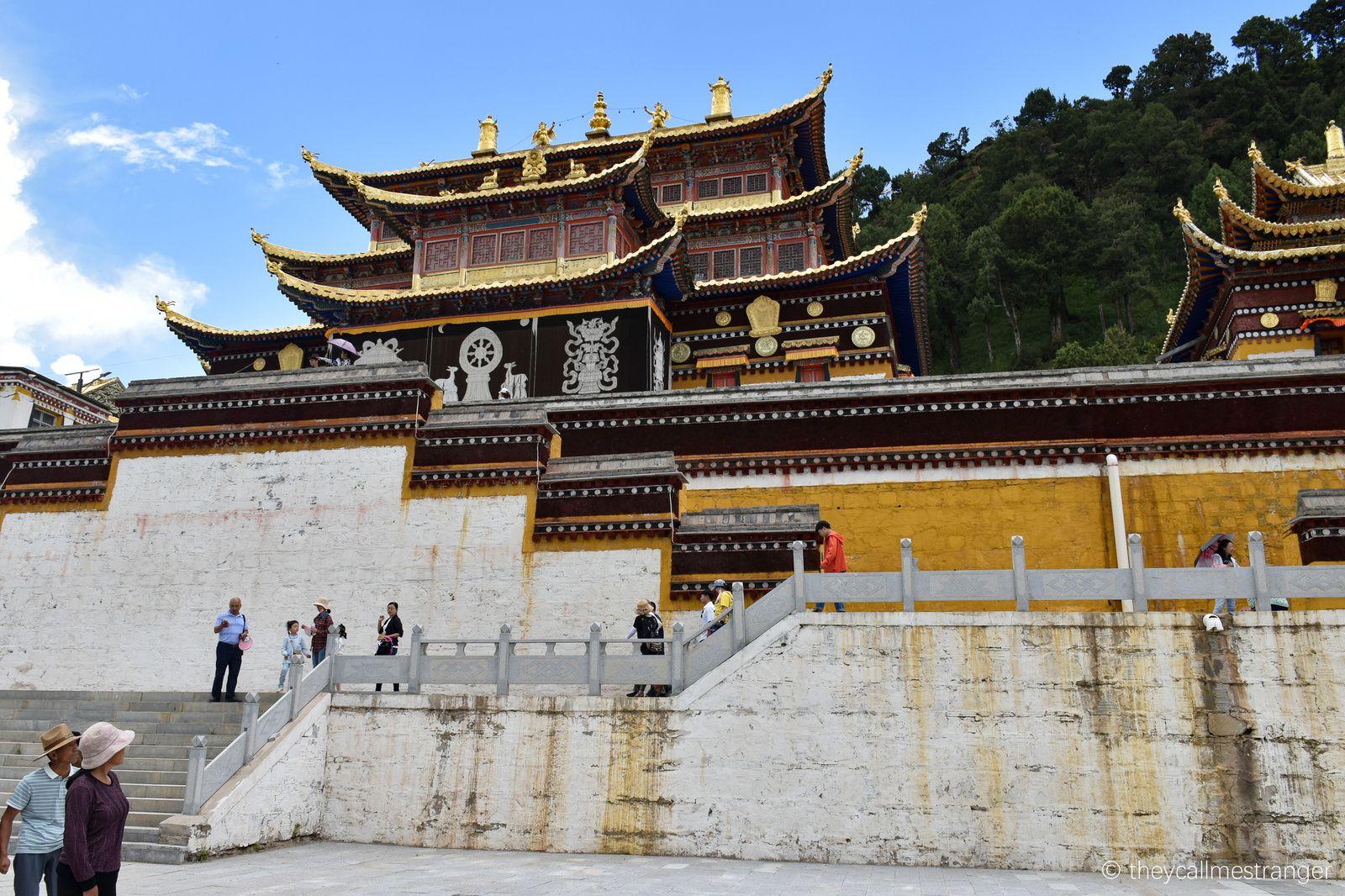 Les monastères bouddhistes tibétains de Langmusi 郎木寺
