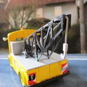 FASCICULE N°27 CITROEN TYPE H 1956 PLATEAU CABINE GARAGISTE ELIGOR 1/43 - car-collector.net