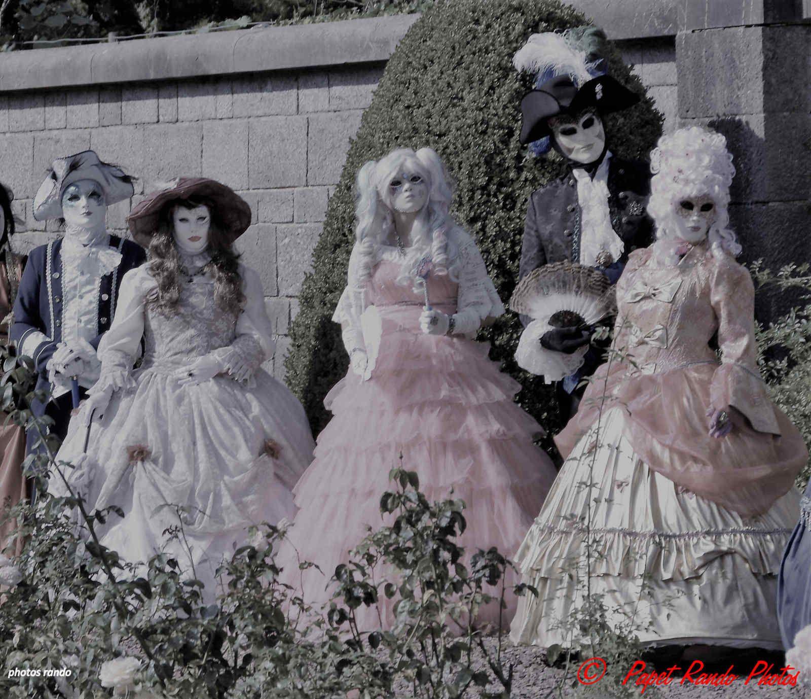 Journée magnifique dans cette année noire, les Venitiens au Chateau de Feluy au Art'is Fous 1ere partiela sortie du matin