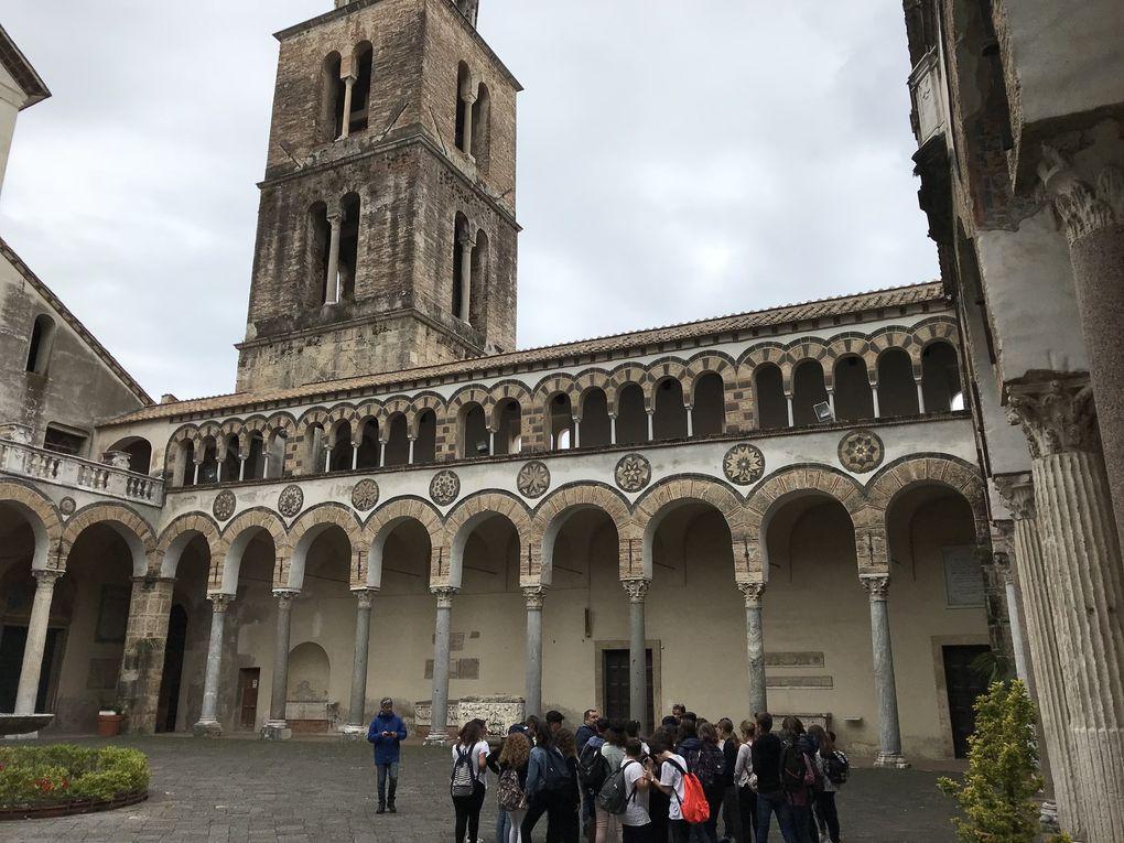 Langues, Chorale, culture ... Pompéi, Salernes, Sorrente en famille italienne