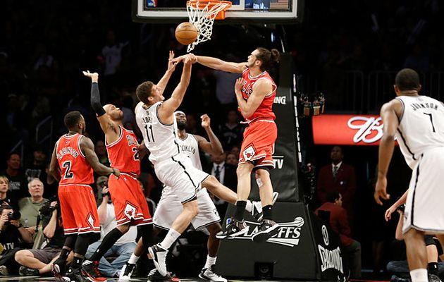 Joakim Noah caught fire in Brooklyn and sends the Bulls in the semifinals of the Eastern Conference
