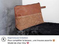 Trousse Koala et sa Pochette Passepoilée - Tutoriel Patron Couture