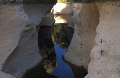 Descente du Rieussec (Salavas, Vallon Pont d'Arc 07)