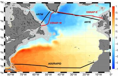 le Gulf Stream ralentit..