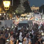 Berlin - Un discours historique de Robert Kennedy Jr. et une multitude de manifestants le 29 août 2020