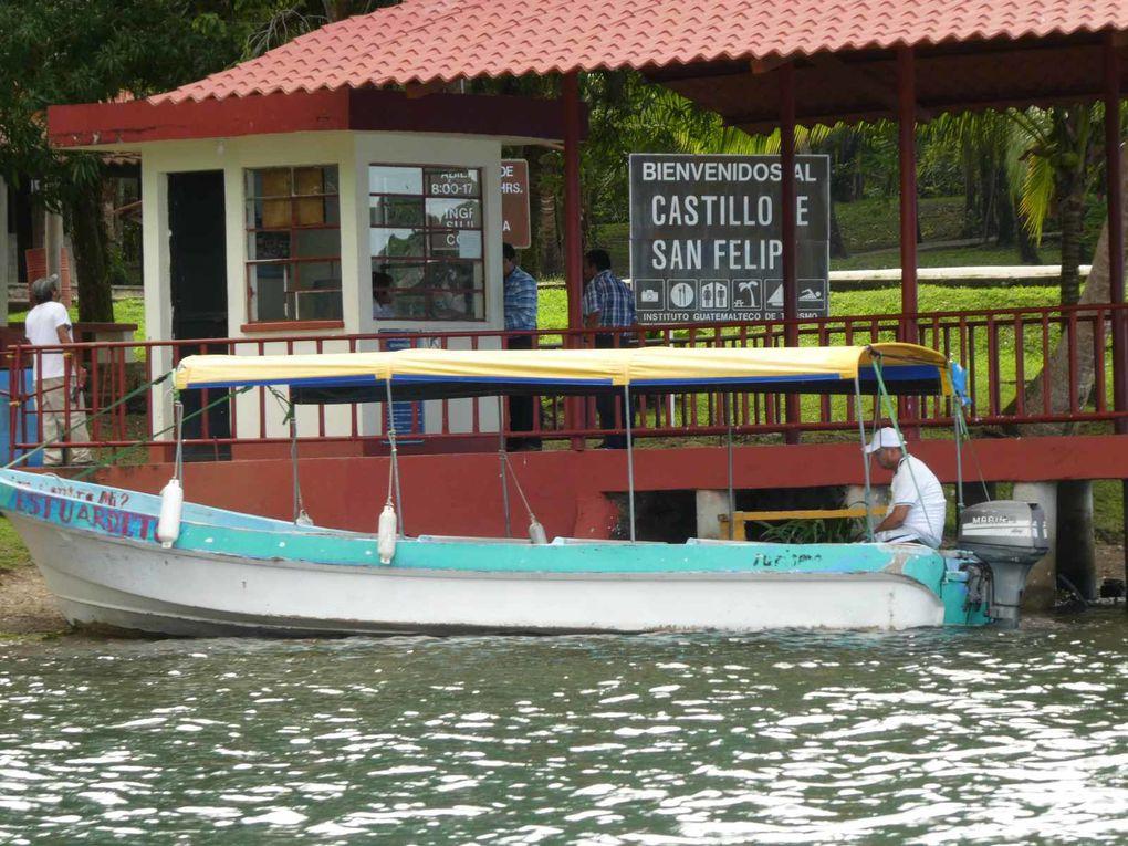 Castillo San Felipe et lago Izabal