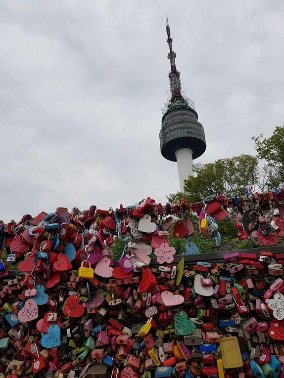 Corée du Sud : la N Seoul Tower