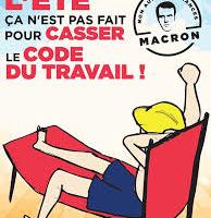 Réforme du code du travail : Emmanuel Macron et le gouvernement doivent dire leurs intentions réelles avant les élections législatives. C'est un impératif démocratique
