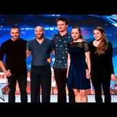 Another Kind Of Blue are a dream come true   Week 2 Auditions   Britain's Got Talent 2016