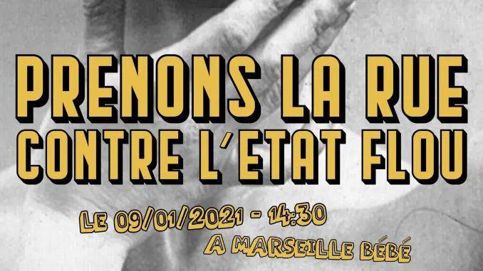 Manifestation le 9 janvier 2021, 14:30 au Vieux-Port !