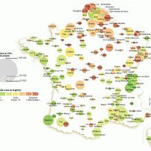 Les villes moyennes françaises en déclin ?