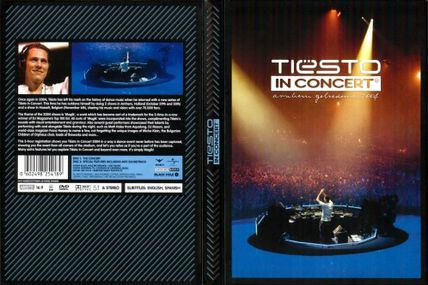 Tiësto DVD: In Concert 2004