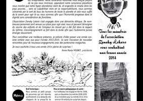 Journal de l'activité Zanaky-Lokaro en 2013