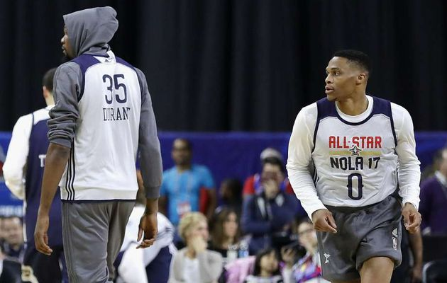 NBA All-Star Game : Kevin Durant et Russell Westbrook reviennent sur leur belle action