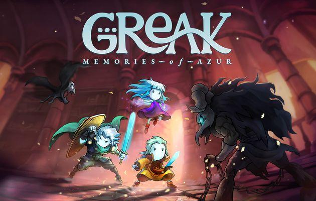 [ACTUALITE] Greak: Memories of Azur - Une fabuleuse aventure vous attend cet été