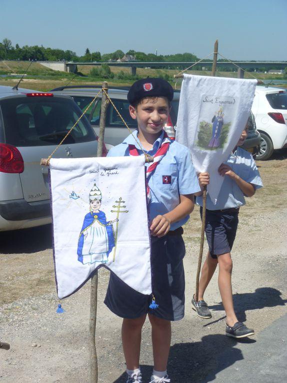 Photos de la procession du Saint-Sacrement du 18 juin 2017