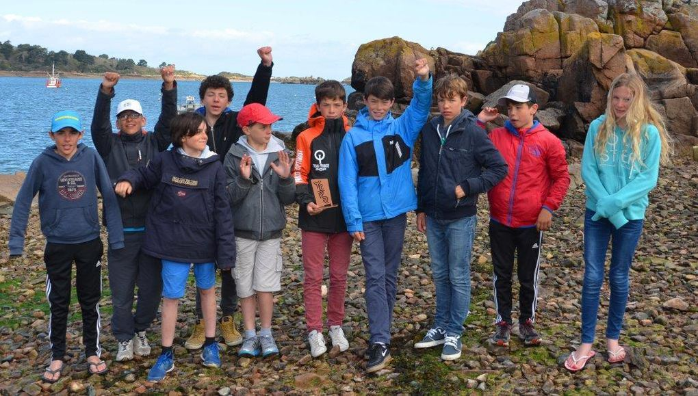 Bravo aux petits canotiers - une belle CIP 2016