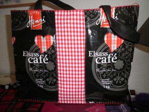 de nouveaux sacs en paquets de café