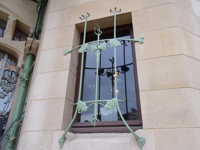 Elément de décoration de la villa Majorelle