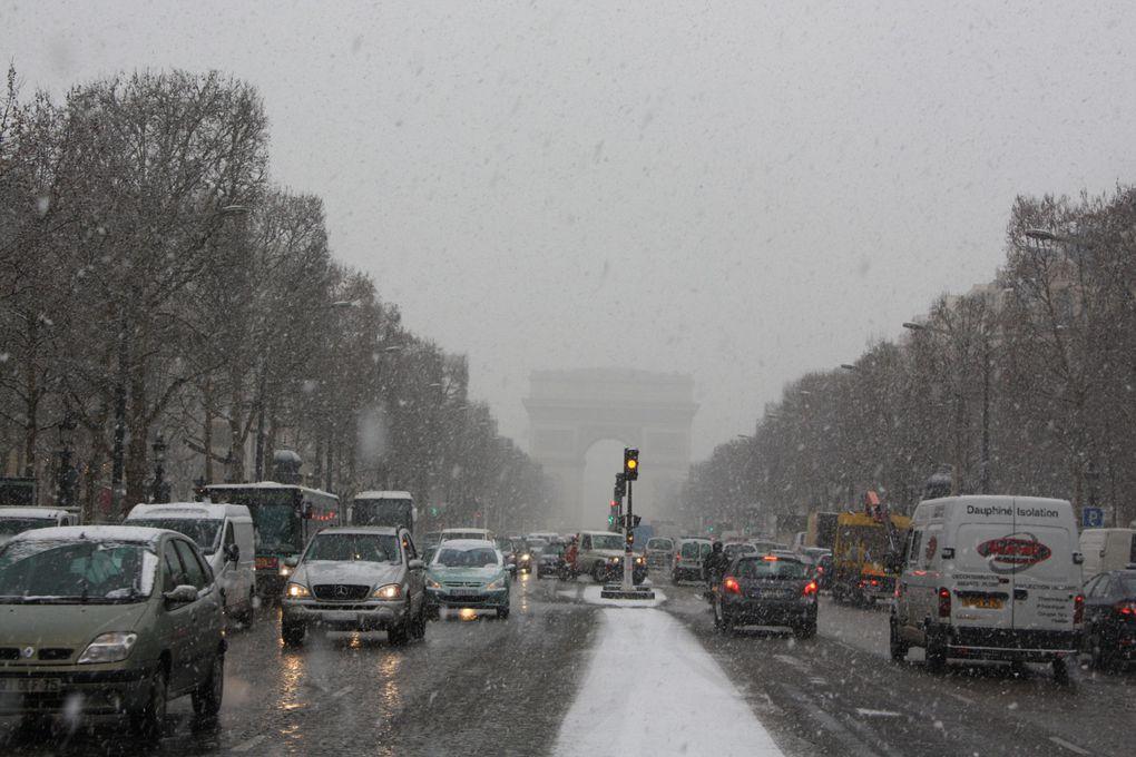 Photos: Emmanuel et Mariela Paris, le 10 février 2010