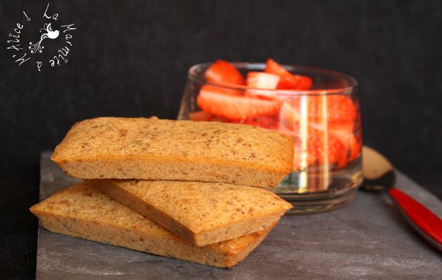 Financiers aux Speculoos {Ronde Interblogs #37}