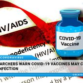 Researchers Warn COVID-19 Vaccines May Cause HIV Infection | GreatGameIndia
