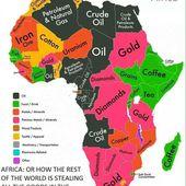 Les richesses de l'Afrique pays par pays