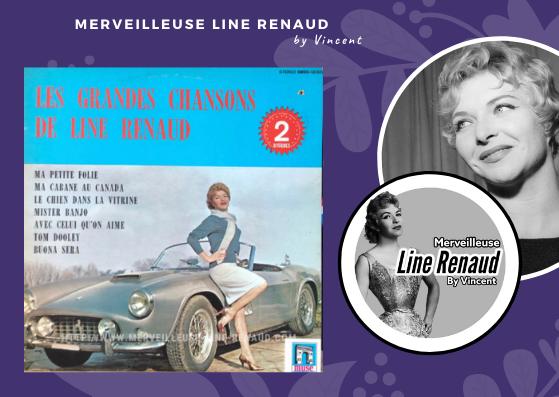 33 TOURS:  1970 Muse/EMI - SMBO 62025 Les Grandes Chansons De Line Renaud (Canada)