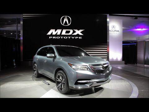 Acura MDX au Salon de Detroit 2013